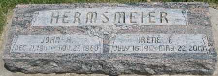 HERMSMEIER, JOHN H. - Saline County, Nebraska   JOHN H. HERMSMEIER - Nebraska Gravestone Photos