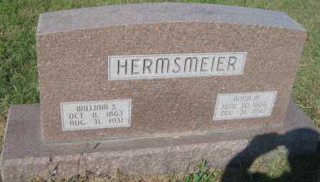 "HERMSMEIER, WILHELM SIMON ""WILLIAM"" - Saline County, Nebraska 