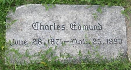 HILTON, CHARLES EDMUND - Saline County, Nebraska | CHARLES EDMUND HILTON - Nebraska Gravestone Photos