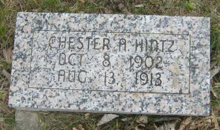 HINTZ, CHESTER A. - Saline County, Nebraska | CHESTER A. HINTZ - Nebraska Gravestone Photos