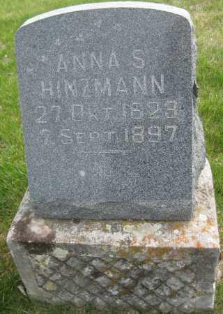 HINZMANN, ANNA S. - Saline County, Nebraska   ANNA S. HINZMANN - Nebraska Gravestone Photos