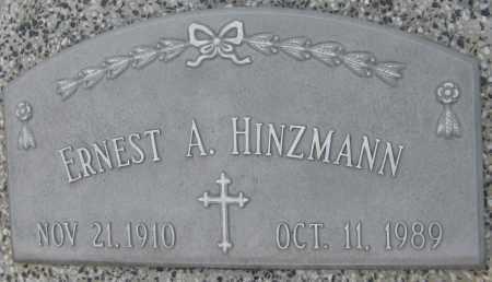 HINZMANN, ERNEST A. - Saline County, Nebraska   ERNEST A. HINZMANN - Nebraska Gravestone Photos