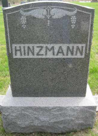 HINZMANN, FAMILY MONUMENT - Saline County, Nebraska | FAMILY MONUMENT HINZMANN - Nebraska Gravestone Photos