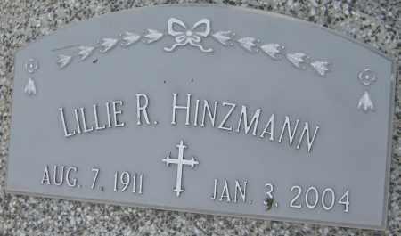 HINZMANN, LILLIE R. - Saline County, Nebraska   LILLIE R. HINZMANN - Nebraska Gravestone Photos
