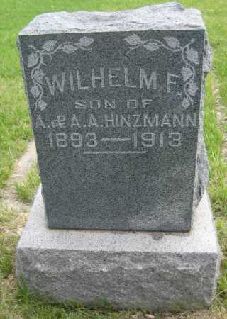 HINZMANN, WILHELM F. - Saline County, Nebraska | WILHELM F. HINZMANN - Nebraska Gravestone Photos