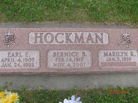 HOCKMAN, MARILYN K. - Saline County, Nebraska   MARILYN K. HOCKMAN - Nebraska Gravestone Photos