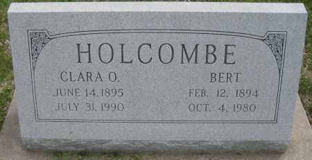 HOLCOMBE, CLARA O. - Saline County, Nebraska   CLARA O. HOLCOMBE - Nebraska Gravestone Photos