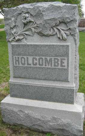 HOLCOMBE, FAMILY MONUMENT - Saline County, Nebraska   FAMILY MONUMENT HOLCOMBE - Nebraska Gravestone Photos