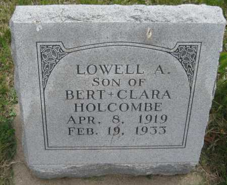 HOLCOMBE, LOWELL A. - Saline County, Nebraska   LOWELL A. HOLCOMBE - Nebraska Gravestone Photos