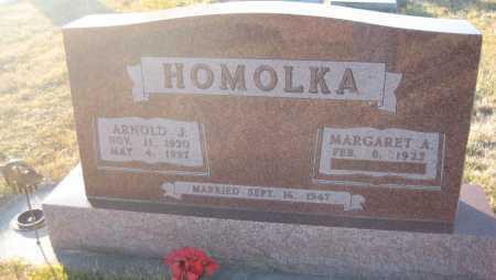 HOMOLKA, MARGARET A. - Saline County, Nebraska | MARGARET A. HOMOLKA - Nebraska Gravestone Photos