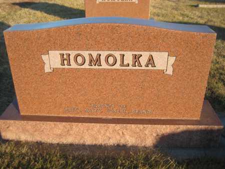 HOMOLKA, PATIENCE - Saline County, Nebraska   PATIENCE HOMOLKA - Nebraska Gravestone Photos