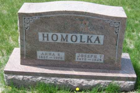 HOMOLKA, ANNA ROSE - Saline County, Nebraska   ANNA ROSE HOMOLKA - Nebraska Gravestone Photos
