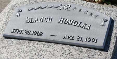 HOMOLKA, BLANCH - Saline County, Nebraska | BLANCH HOMOLKA - Nebraska Gravestone Photos