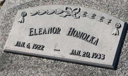 HOMOLKA, ELEANOR - Saline County, Nebraska | ELEANOR HOMOLKA - Nebraska Gravestone Photos