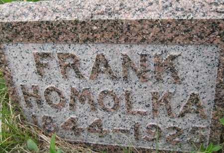 HOMOLKA, FRANK - Saline County, Nebraska | FRANK HOMOLKA - Nebraska Gravestone Photos