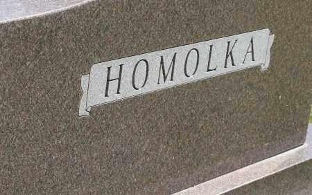 HOMOLKA, FAMILY MONUMENT - Saline County, Nebraska   FAMILY MONUMENT HOMOLKA - Nebraska Gravestone Photos