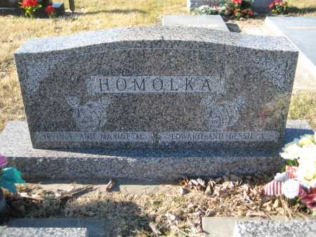 HOMOLKA, MAXINE - Saline County, Nebraska | MAXINE HOMOLKA - Nebraska Gravestone Photos
