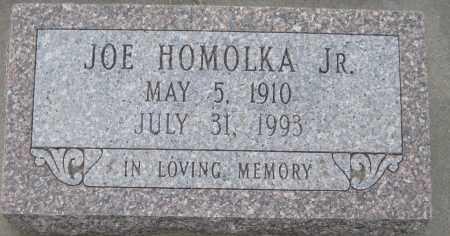 HOMOLKA, JOSEPH JR. - Saline County, Nebraska   JOSEPH JR. HOMOLKA - Nebraska Gravestone Photos