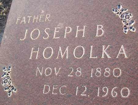 HOMOLKA, JOSEPH B. - Saline County, Nebraska   JOSEPH B. HOMOLKA - Nebraska Gravestone Photos