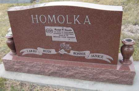 HOMOLKA, RUDOLPH ROBERT - Saline County, Nebraska | RUDOLPH ROBERT HOMOLKA - Nebraska Gravestone Photos