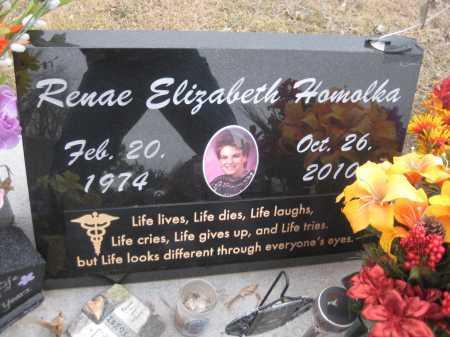 HOMOLKA, RENAE ELIZABETH - Saline County, Nebraska   RENAE ELIZABETH HOMOLKA - Nebraska Gravestone Photos