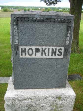 HOPKINS, FAMILY STONE - Saline County, Nebraska | FAMILY STONE HOPKINS - Nebraska Gravestone Photos
