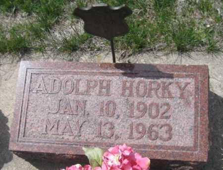 HORKY, ADOLPH - Saline County, Nebraska | ADOLPH HORKY - Nebraska Gravestone Photos