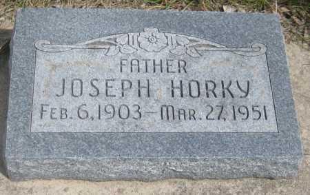 HORKY, JOSEPH, JR. - Saline County, Nebraska | JOSEPH, JR. HORKY - Nebraska Gravestone Photos