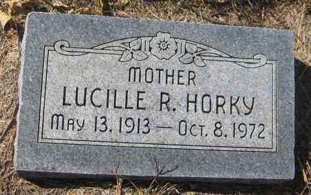 HORKY, LUCILLE R. - Saline County, Nebraska | LUCILLE R. HORKY - Nebraska Gravestone Photos