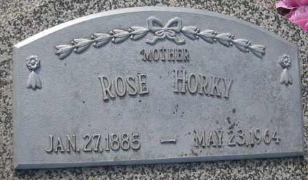 HORKY, ROSE - Saline County, Nebraska   ROSE HORKY - Nebraska Gravestone Photos