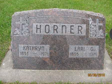 HORNER, KATHRYN - Saline County, Nebraska | KATHRYN HORNER - Nebraska Gravestone Photos