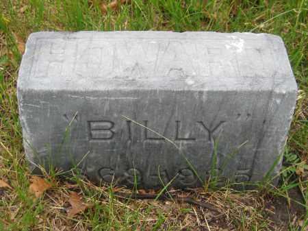 HOWARD, BILLY - Saline County, Nebraska | BILLY HOWARD - Nebraska Gravestone Photos
