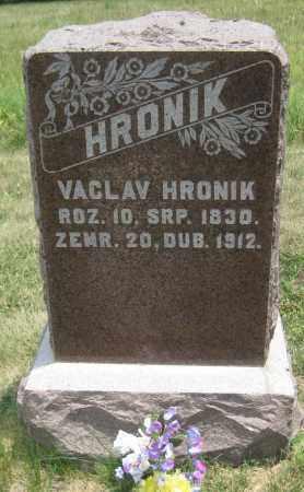HRONIK, VACLAV - Saline County, Nebraska | VACLAV HRONIK - Nebraska Gravestone Photos