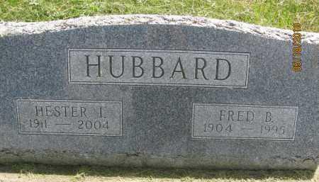 WEST HUBBARD, HESTER IRENE - Saline County, Nebraska | HESTER IRENE WEST HUBBARD - Nebraska Gravestone Photos