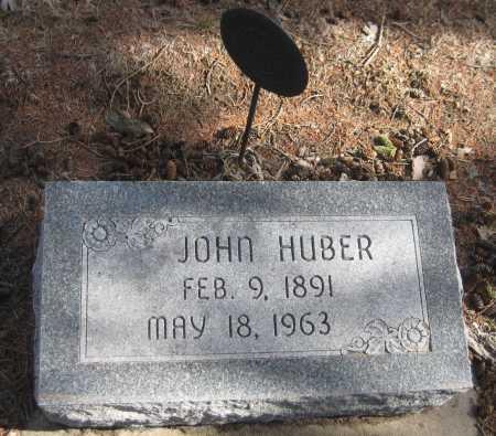 HUBER, JOHN - Saline County, Nebraska | JOHN HUBER - Nebraska Gravestone Photos