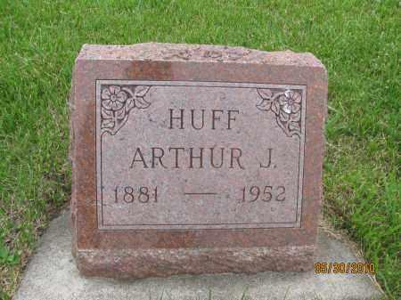 HUFF, ARTHUR JAMES - Saline County, Nebraska | ARTHUR JAMES HUFF - Nebraska Gravestone Photos
