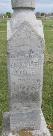 "BAINTER HUFF, ELISABETH ""BETSY"" - Saline County, Nebraska | ELISABETH ""BETSY"" BAINTER HUFF - Nebraska Gravestone Photos"