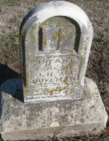 HUFFMAN, INFANT SON - Saline County, Nebraska | INFANT SON HUFFMAN - Nebraska Gravestone Photos