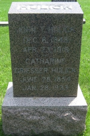 MOOBERRY HULICK, CATHERINE - Saline County, Nebraska | CATHERINE MOOBERRY HULICK - Nebraska Gravestone Photos