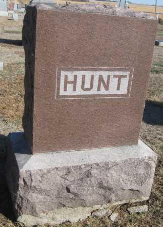 HUNT, FAMILY MONUMENT - Saline County, Nebraska | FAMILY MONUMENT HUNT - Nebraska Gravestone Photos