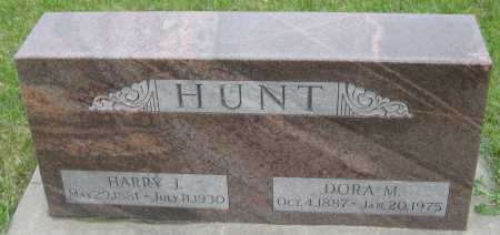 HUNT, HARRY J. - Saline County, Nebraska   HARRY J. HUNT - Nebraska Gravestone Photos