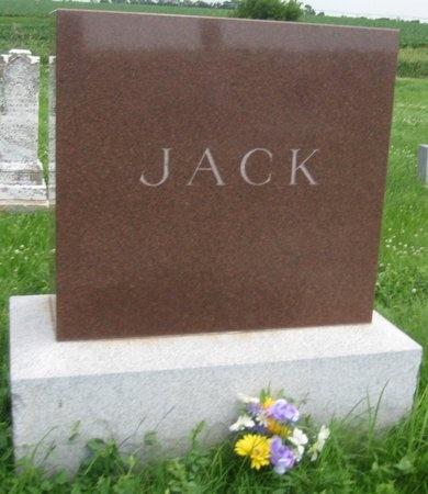 JACK, FAMILY MONUMENT - Saline County, Nebraska | FAMILY MONUMENT JACK - Nebraska Gravestone Photos