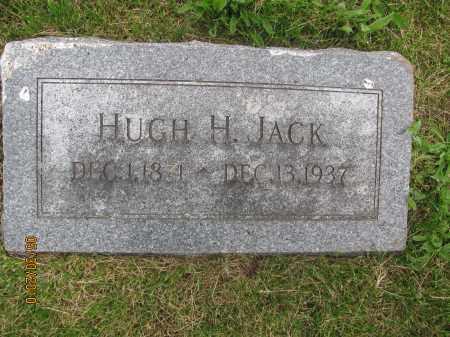 JACK, HUGH HOOD - Saline County, Nebraska | HUGH HOOD JACK - Nebraska Gravestone Photos