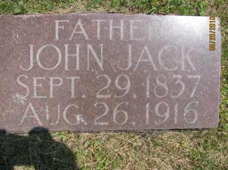 JACK, JOHN - Saline County, Nebraska   JOHN JACK - Nebraska Gravestone Photos