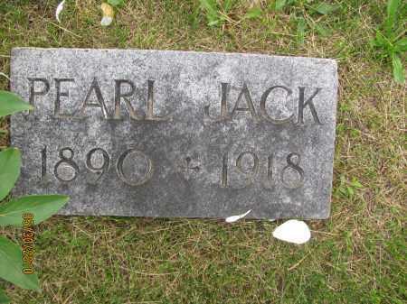JACK, PEARL - Saline County, Nebraska | PEARL JACK - Nebraska Gravestone Photos