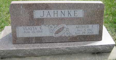 KUMPOST JAHNKE, VLASTA - Saline County, Nebraska | VLASTA KUMPOST JAHNKE - Nebraska Gravestone Photos