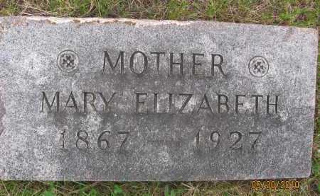 JARRETT, MARY ELIZABETH - Saline County, Nebraska | MARY ELIZABETH JARRETT - Nebraska Gravestone Photos