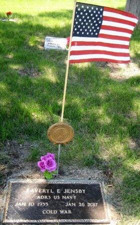 JENSBY, LAVERYL E. - Saline County, Nebraska | LAVERYL E. JENSBY - Nebraska Gravestone Photos