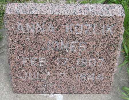 JONES, ANNA MARIE - Saline County, Nebraska | ANNA MARIE JONES - Nebraska Gravestone Photos