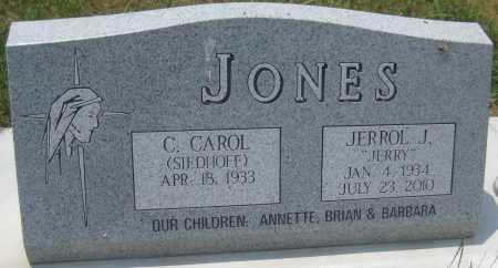 JONES, C. CAROL - Saline County, Nebraska | C. CAROL JONES - Nebraska Gravestone Photos